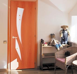 Ламинированные двери в финиш-плёнке