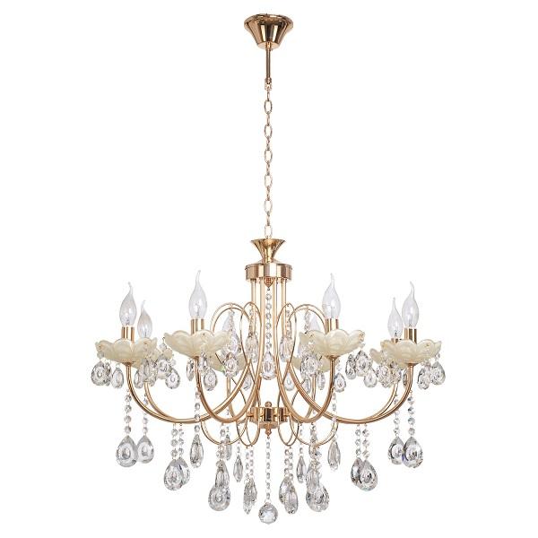 Осветительные приборы из хрусталя – традиционный признак роскоши