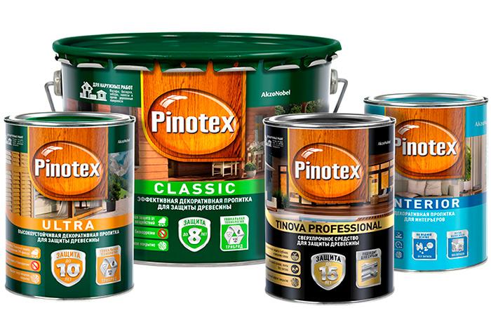 Pinotex пропитка деревянных покрытий