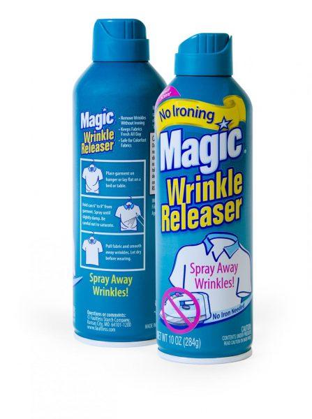 Magic wrinkle releaser spray