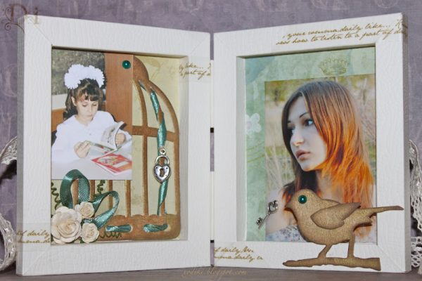 Фоторамка-книга