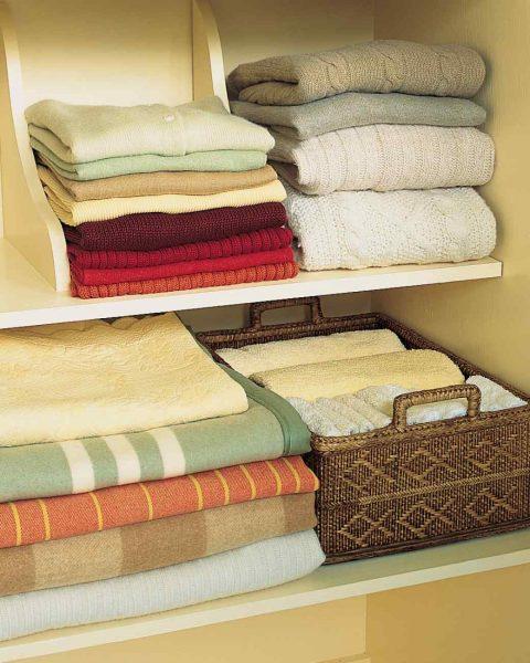 Хранение вещей с мылом