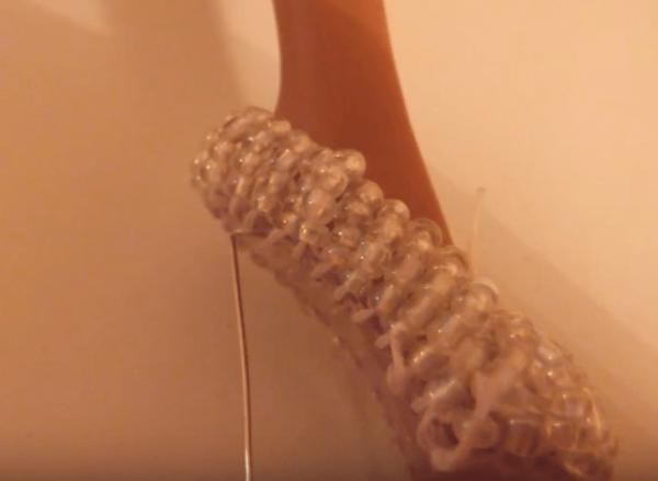 Изготовление каблука из швензы
