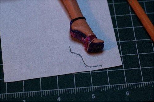 Изготовление каблука на начальных этапах