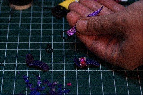 Изготовление ремешка для туфель