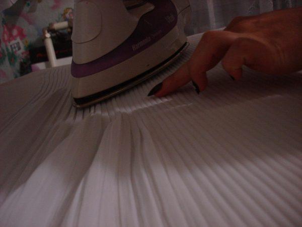 Как гладить «плиссе»