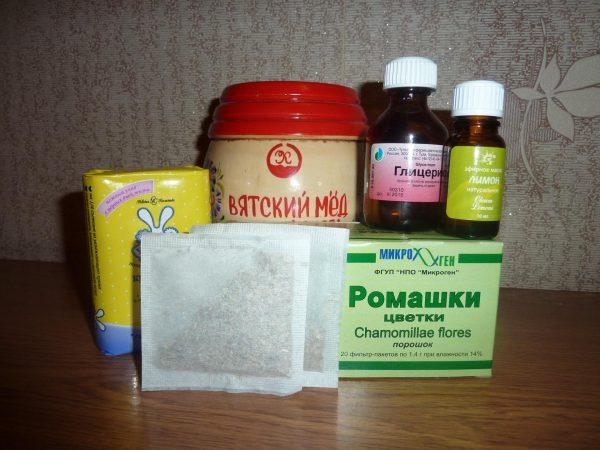Компоненты для мыла из бруска