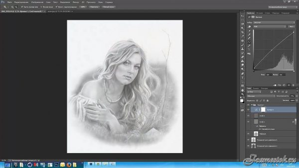 Photoshop рисование