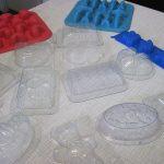 Пластиковые формы для мыла