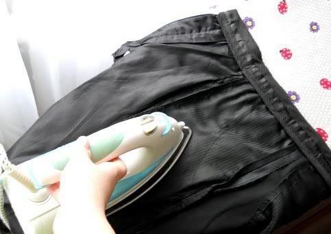 Как гладить брюки с изнанки