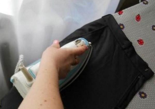 Как гладят боковые карманы