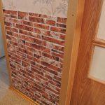 Стеновая панель с коридоре
