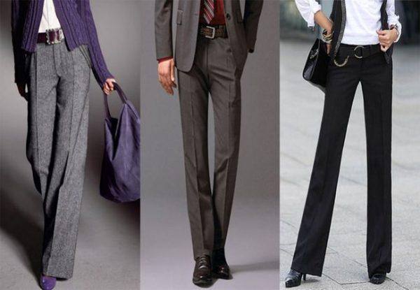 Модели женских брюк со стрелками