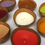 Ароматические свечи из кокоса