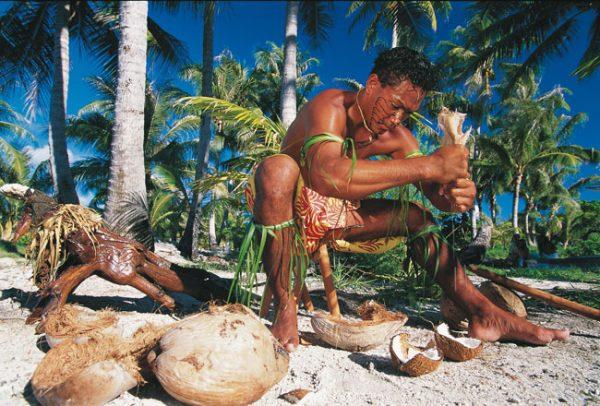 Использование кокосов