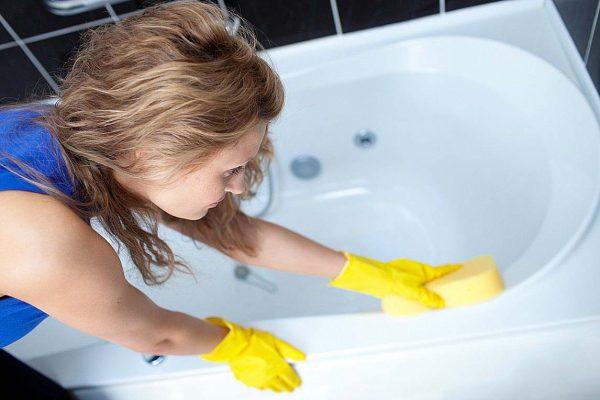 Мытье ванной