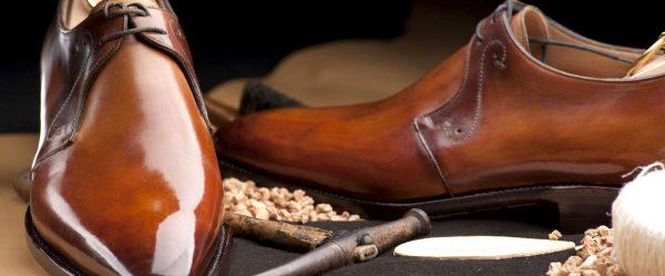 Начищенные мужские ботинки