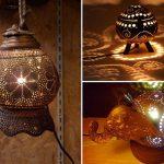 Светильники из кокоса