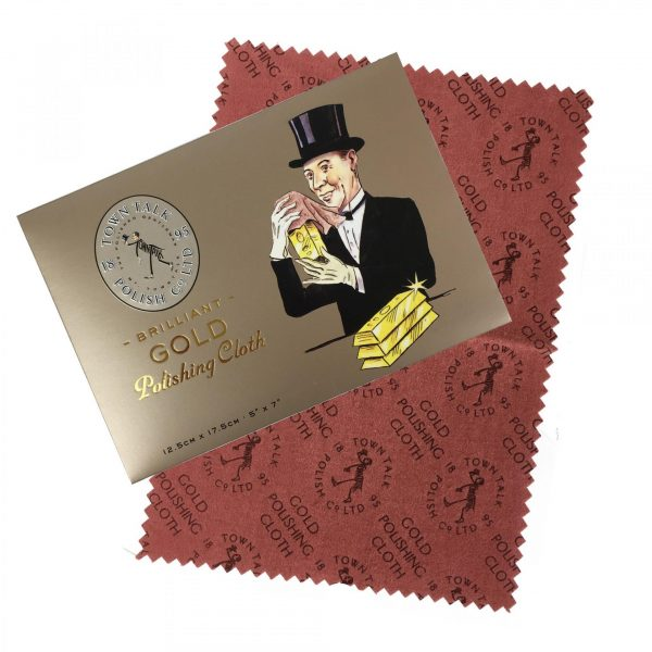 Town Talk Brilliant Gold Polishing Cloth