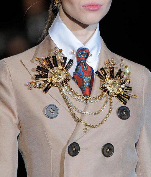 Модное пальто на топ-модели