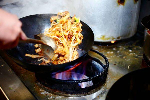Обжаривание в технике стир-фрай