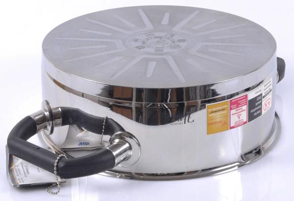 Обазец днища посуды для индукционной плиты