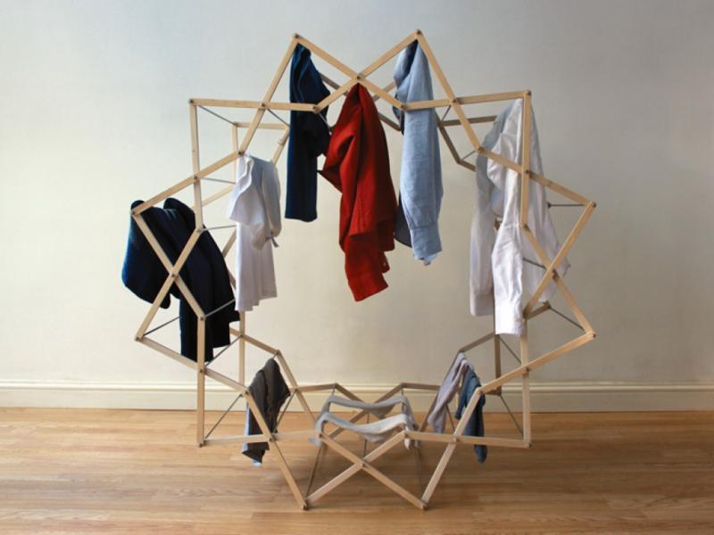 Сушка одежды: традиционные и нестандартные способы
