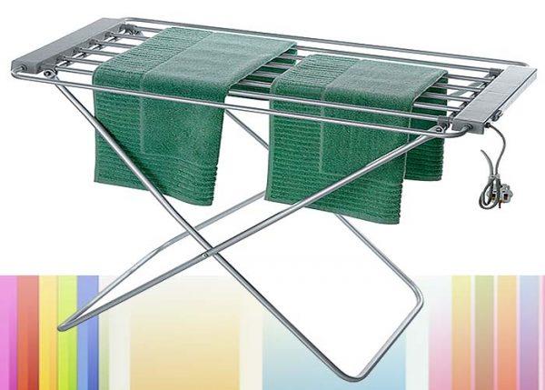 Полотенце на электрической сушилке