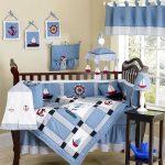Голубое лоскутное одеяло