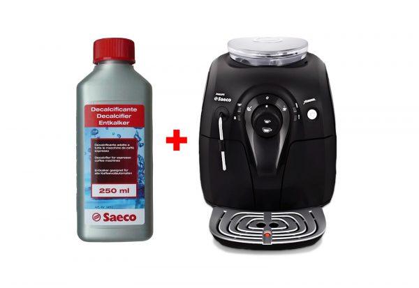 Кофемашина и средство для её очистки