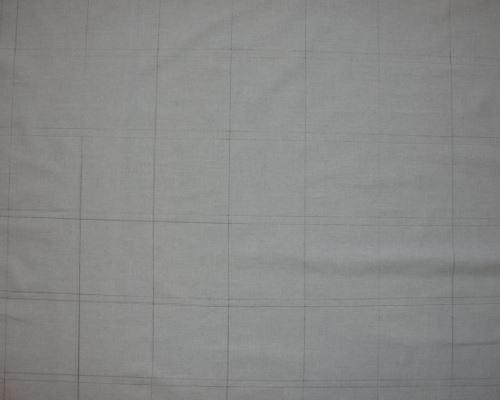 Подготовка полотна к пошиву