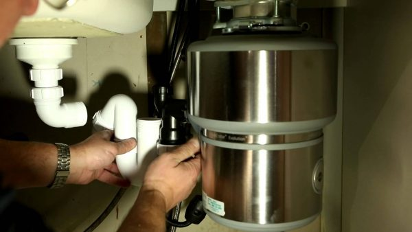 Подключение диспоузера к канализации