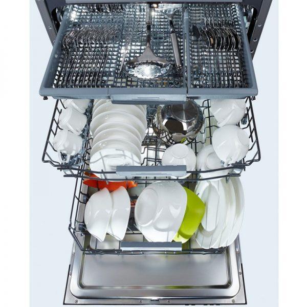 Посудомоечная машина с дополнительной корзиной