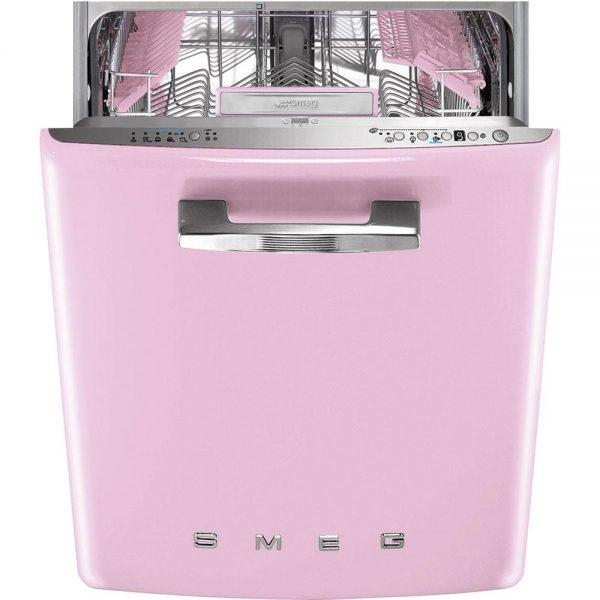 Розовая посудомоечная машина