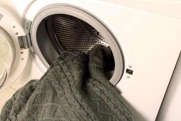 стирать свитер в машинке
