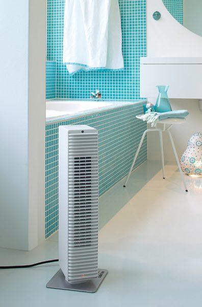 Тепловой напольный вентилятор