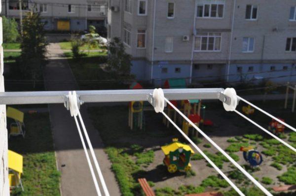 Балконная наружная сушилка