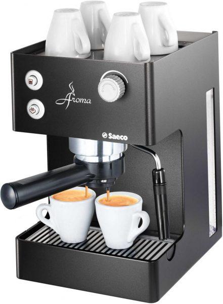 Бытовая рожковая кофеварка