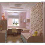 Контрастная стена в спальне