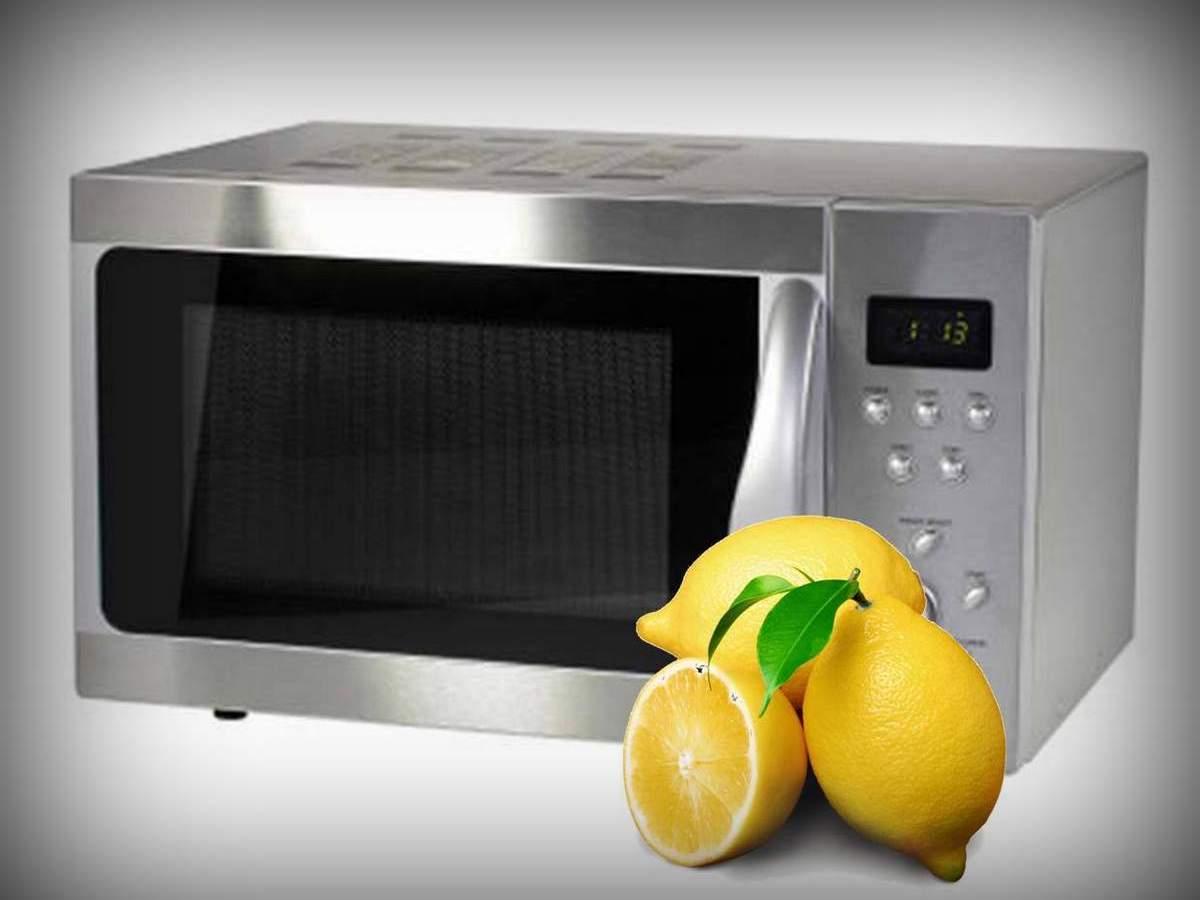 Как очистить микроволновку с помощью лимона или лимонной кислоты