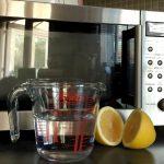 Микроволновка, вода и лимон