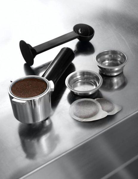Рожок для кофеварки и сопутствующие аксессуары