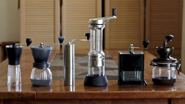Разные кофемолки