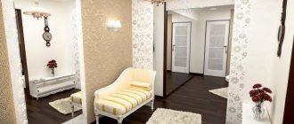Обои в прихожей, сочетаясь с интерьером, аксессуарами и освещением создадут атмосферу тепла и уюта в вашем доме