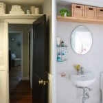 Хранение в ванной на антресоли