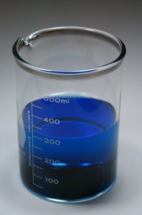 Смесь синьки и воды