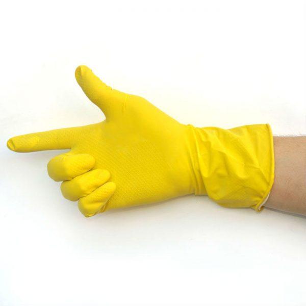 Резиновая перчатка