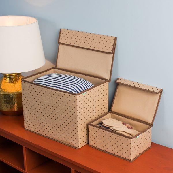 Тканевые коробки