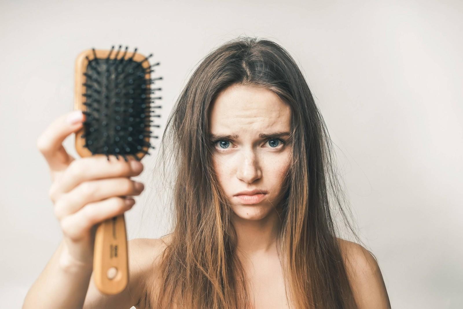 ломка для волос фото устье