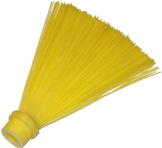 Жёлтая синтетическая метла